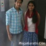 Rinku Rajguru and Aakash Thosar