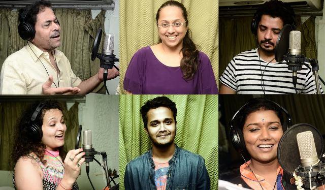Vishwas Marathi Movie Song Recording