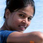 Akshaya Deodhar Swimming