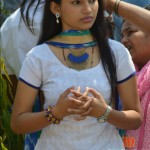 Rajeshwari During Shooting