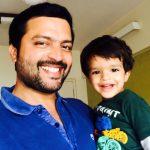Ankush Chaudari Marathi actor With his boy