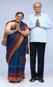 Dilip Prabhavalkar and Sukanya Mone