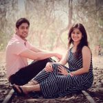 Mrunal Dusanis With Her Husband