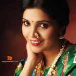 Mukta Barve Photo in Saree