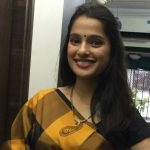 Priya Bapat on Saree