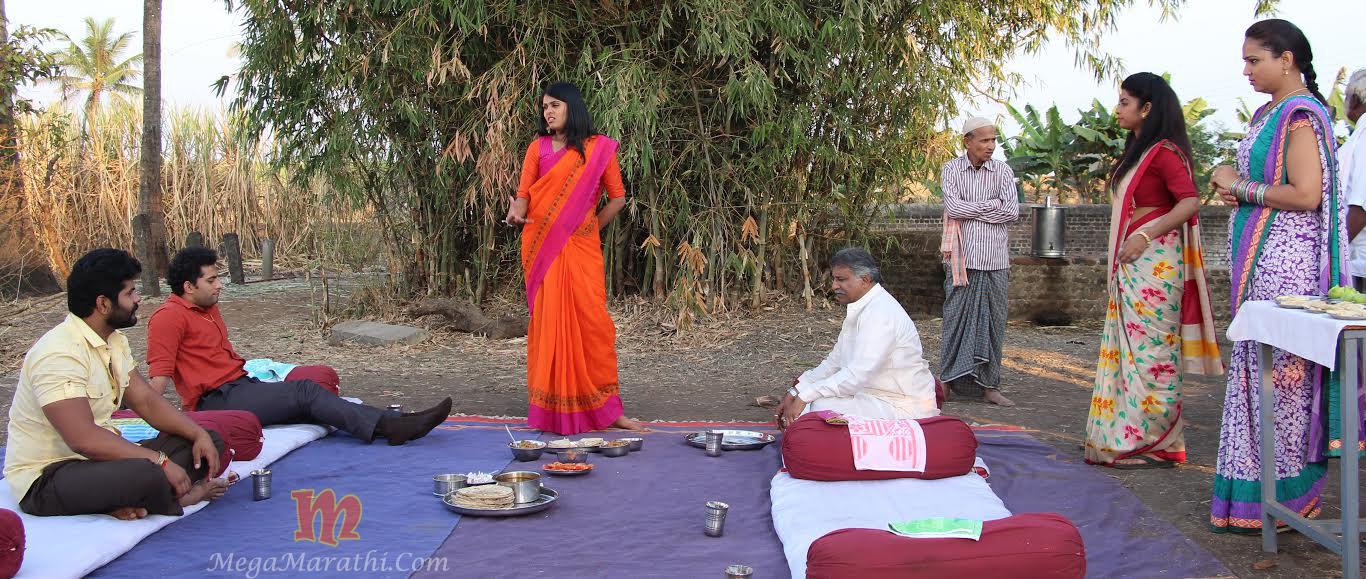 Rana Family and Pathak Bai in Farm