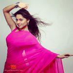 Sonalee Kulkarni In Pink Saree