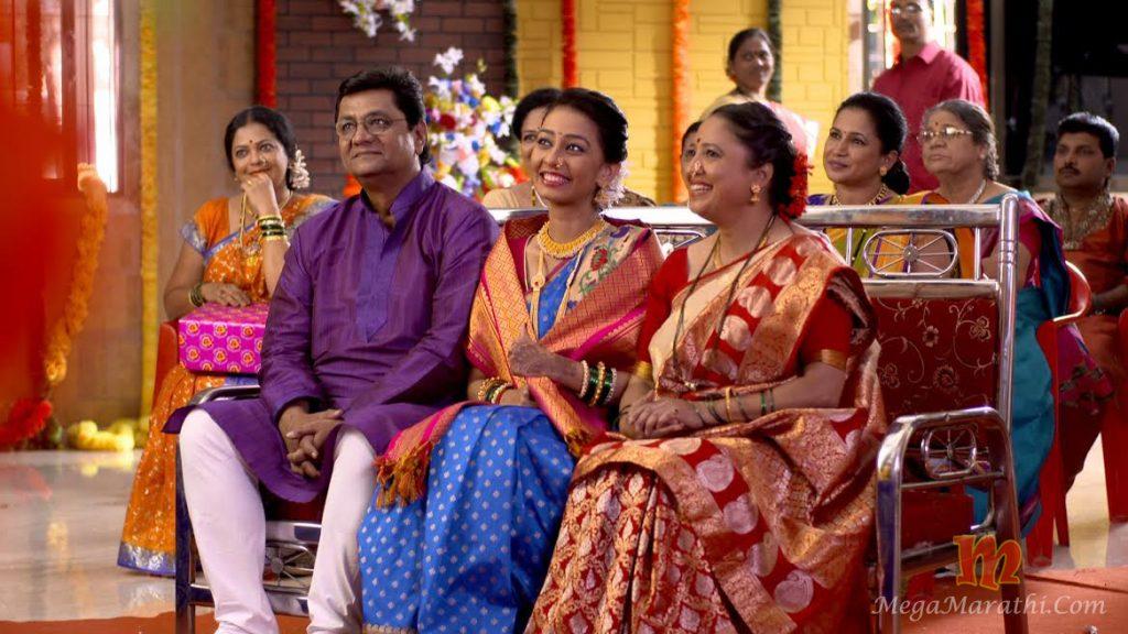 Star Pravah goth Serial Radha Marriage Photos
