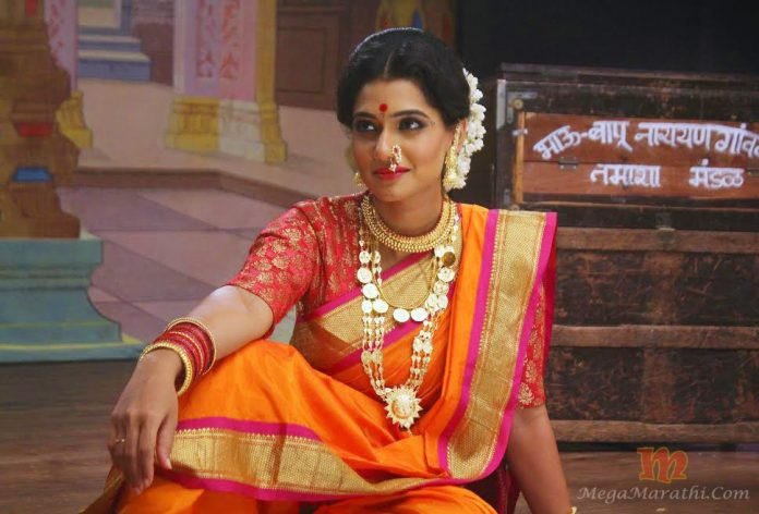 Vithaa Tamasha Queen Marathi Movie Poster