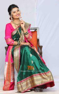 Prajkta Mali Nakti Zee Marathi Serial
