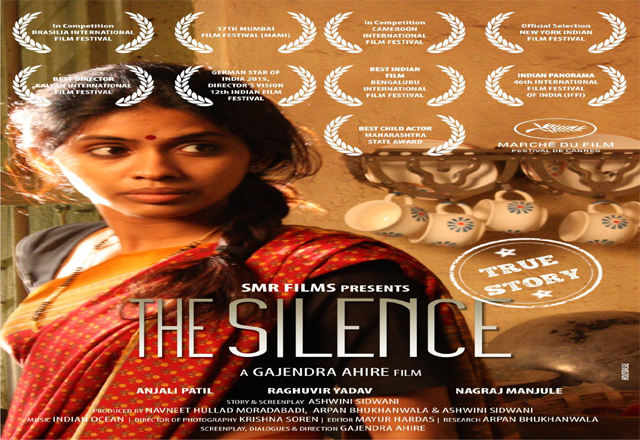 The Silence Marathi Movie Cover Poster