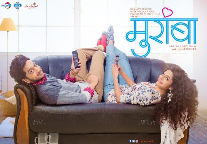 Muramba Marathi Movie Poster Amey Wagh , Mithila Palkar