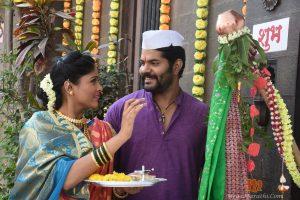 Rana And Anjali Gudi Padwa Celebration