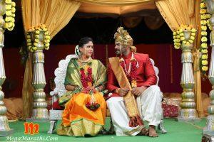 Rana and Pathak Bai Marriage Photo