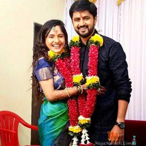 Shashank Ketkar and Priyanka Dhavale Engagement Photo