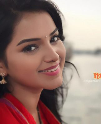 Titeeksha Tawde Saraswati Serial Actress Cover