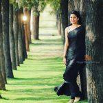 Vaidehi Parshurami in Black Sarree
