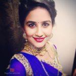 Vaidehi Parshurami in Blue Dress