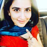 Vaidehi Parshurami voting pic