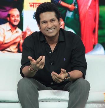 Sachin Tendulkar Smiling