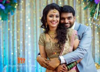 Zee Yuva Akshaya Gurav Marriage Photos Cover