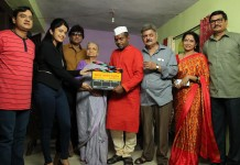 "Muhurat of Vijay Tendulkar's Play Based Movie ""Jhala Anant Hanumant"","