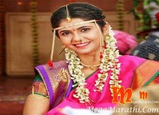 Veena JAgtap Marathi Actress