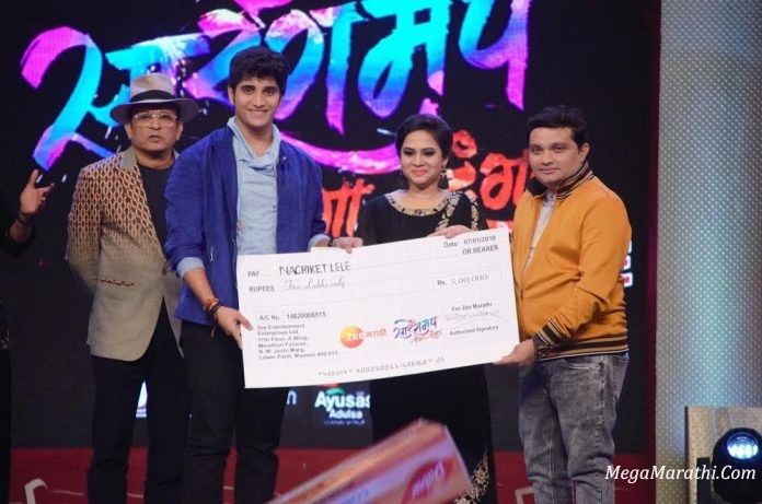 Nachiket Lele Wins This Year's Zee Marathi's Sa Re Ga Ma Pa – Ghe Panga Kar Danga Season