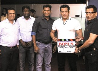 Salman Khan gave clap for marathi film 'Bonus'