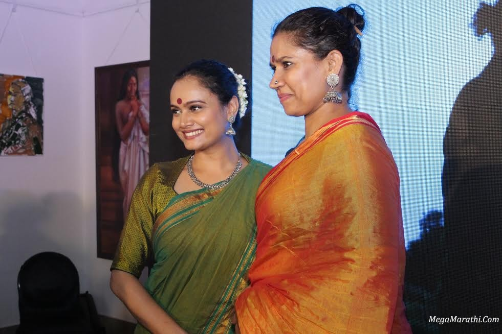Lead Actors of Nude(Chitra), Kalyanee Mulay and Chhaya Kadam