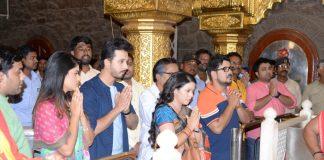 'Mazya Navaryachi Bayko' Zee Marathi Serial Team Visits to Shirdi !