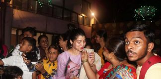 actress Tejaswini Pandit Celebrates Birthday With Fans !