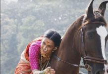 Actress 'Prajakta Gaikwad' Learns Horse Riding and Swordplay for a TV series !