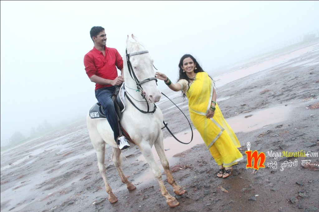 Ajinkya On Horse At Mahabaleshwar