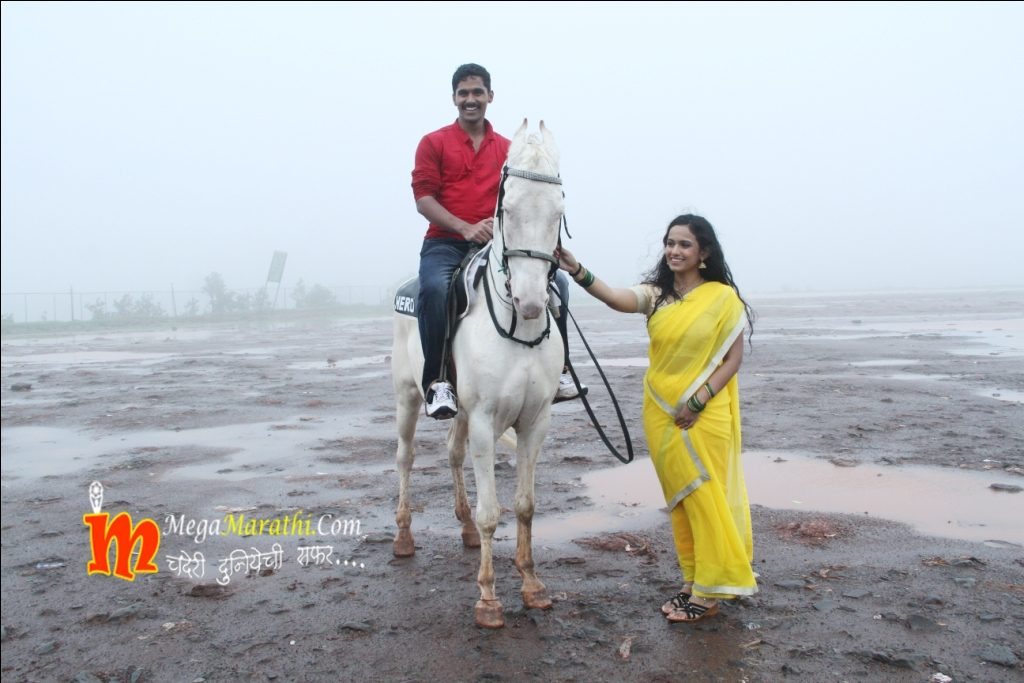 Ajinkya On Horse At Mahabaleshwar Photos