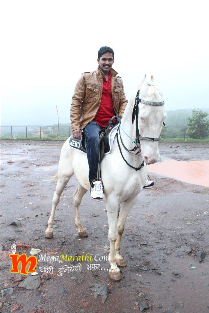 Ajya On Horse