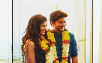 Aniket Vishwasrao and Sneha Chavan Engagement Photos Pics Images Wallpapers