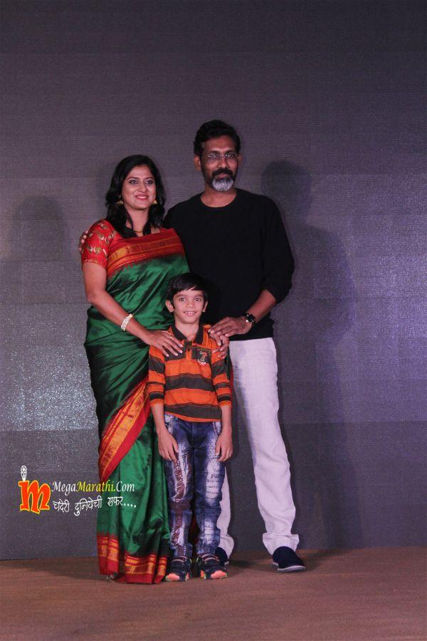 Nagraj Manjule and Devika Daftardar