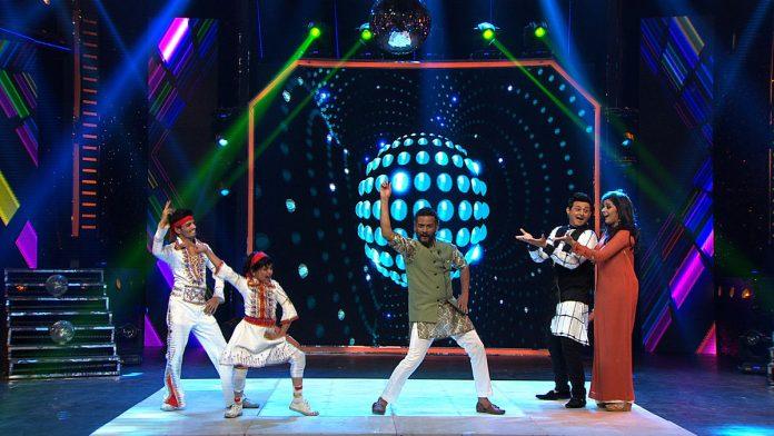 'Mumbai Pune Mumbai' Pair on the Sets of Super Dancer Maharashtra !
