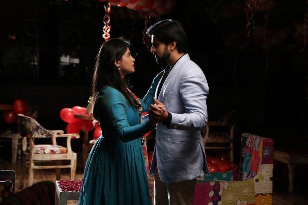 Siddharth and Anu Dancing