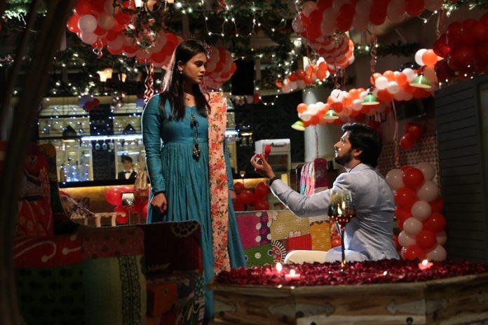 Siddharth and Anushri Dixit Propose Moment Photos Images Pics