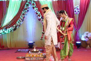 Anu and Siddharth Saptpadi 2