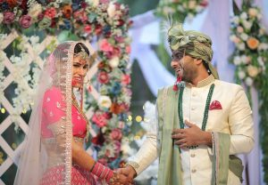 Raj Hachnale and Manisha Deswal Engagement